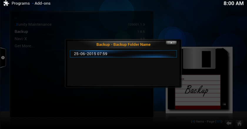 HOW TO BACKUP OR RESTORE YOUR KODI
