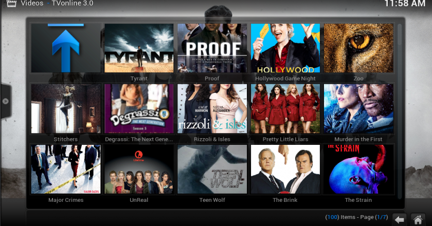 Install The Awesome TVONLINE 3.0 on Kodi
