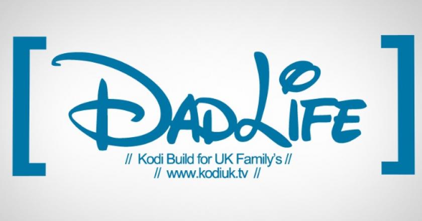 Install Dads Life on Kodi