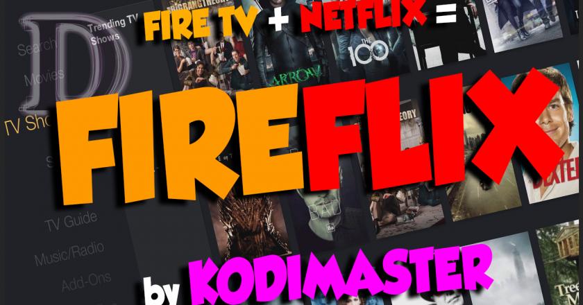 Install FireFlix KODI Build
