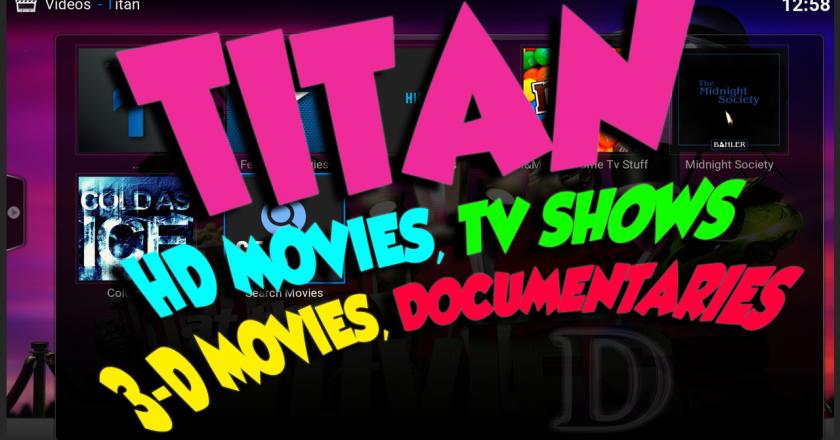 Install Titan Addon Kodi