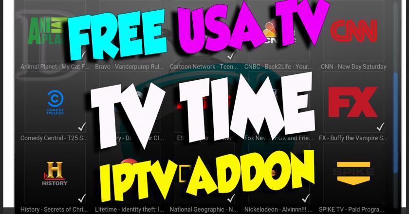 Install TV Time Kodi