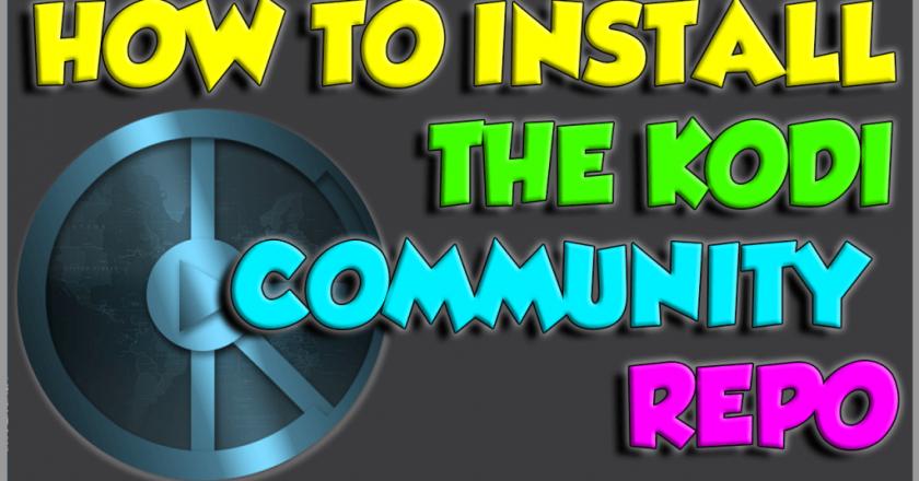 install the Community Repo