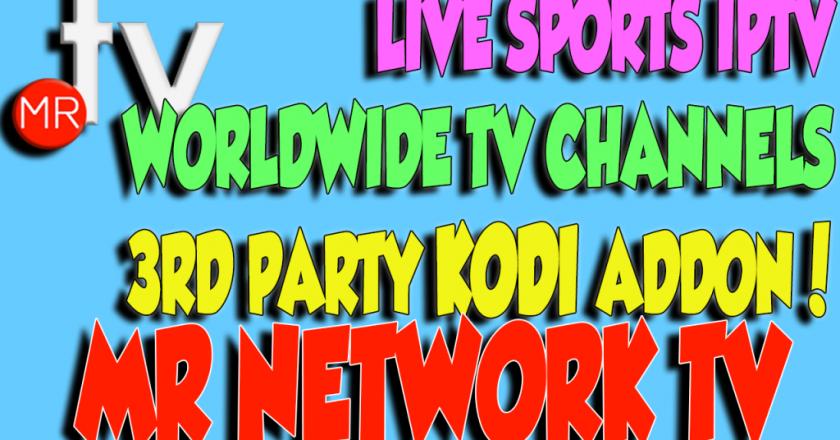Install MR Network TV on Kodi