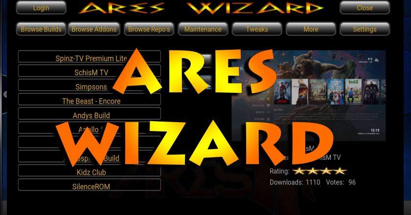 InstallAres Wizard