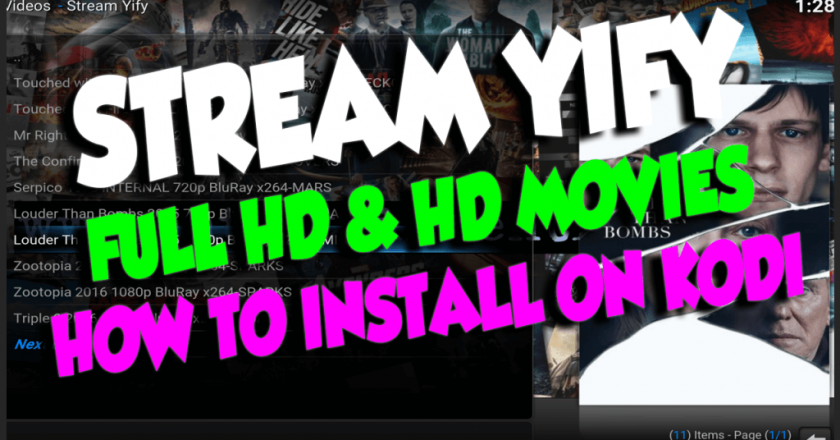 install YIFI addon