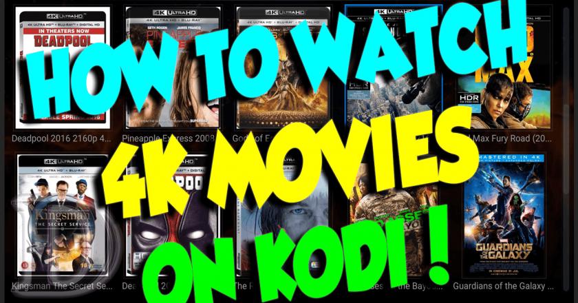 install 4k movies