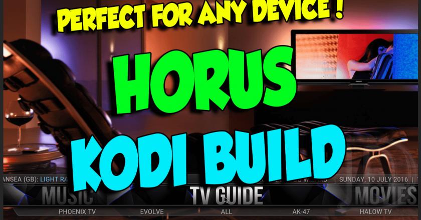 Horus Build KODI Dimitrology