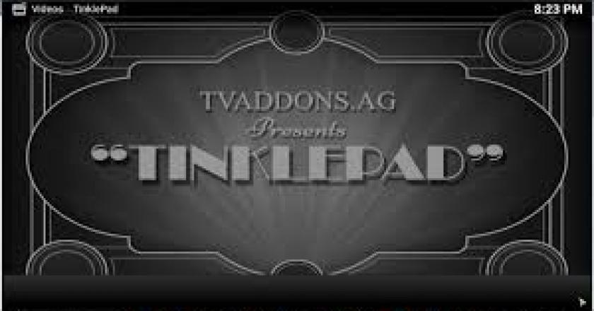 Install Tinklepad On Kodi